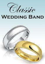 Classic Wedding Band Rings