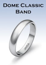 Dome Classic Band Rings