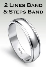2 Lines Band and Steps Band