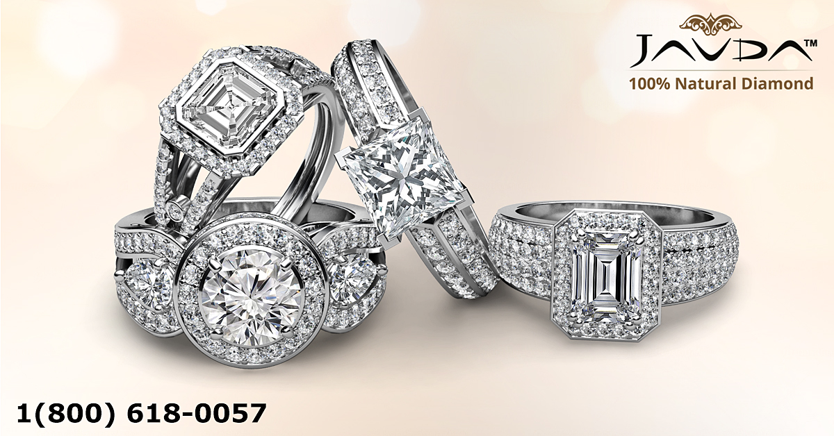 Source of Natural Diamonds Engagement Ring Wedding Bands
