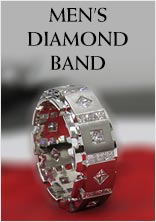 Mens Diamond Band