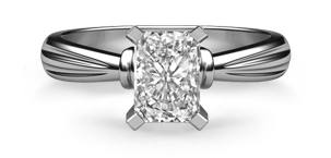 Radiant Classic Solitaire Ring
