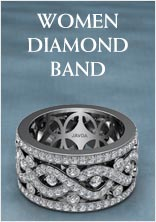 Womens Diamond Band