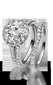 bridal sets ring