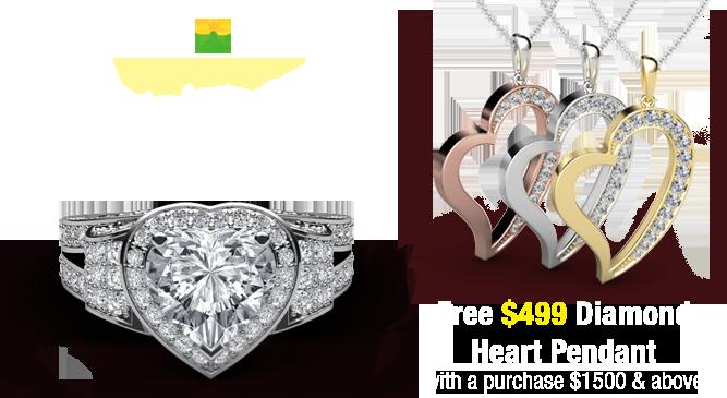 diamond engagement ring - Cheap Wedding Rings Under 100