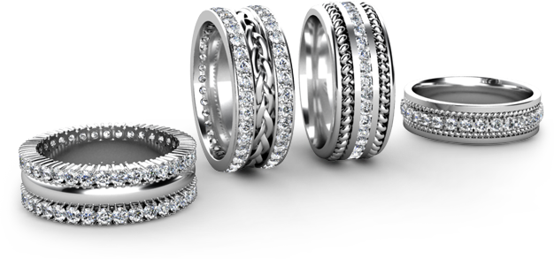 Source Of 100 Natural Diamonds Engagement Ring Wedding Bands