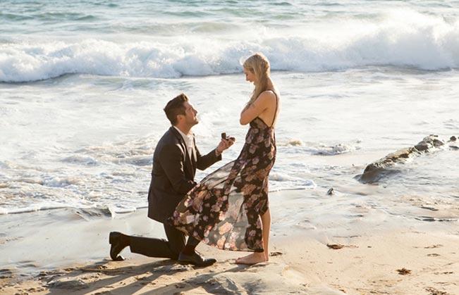 Beach Marriage Proposals