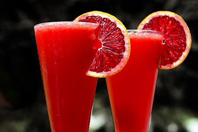 Blood orange punch