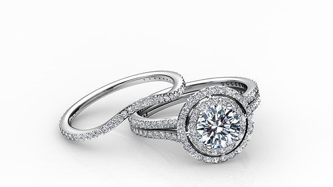 Weddings Diamond Bridal Set