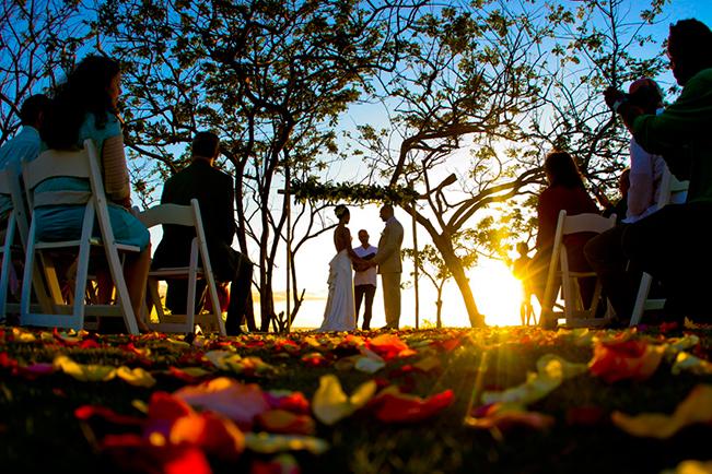 Host a morning wedding