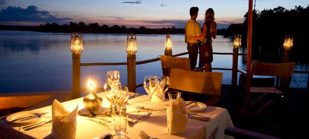 Marriage Proposal Over Candle Light Dinner