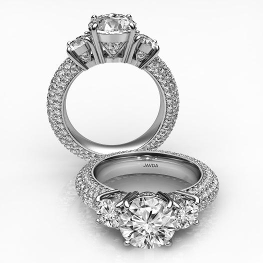 Three-stone-with-sidestone-ring