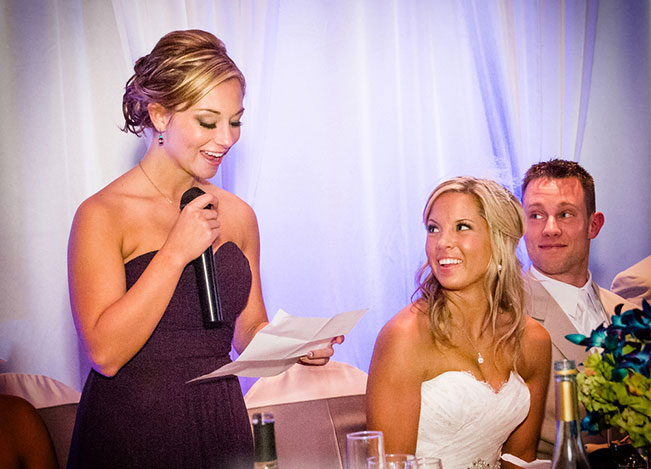 bridesmaid and maid of honor speech writing ideas