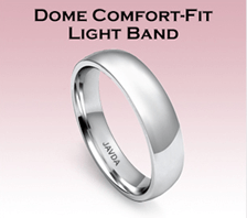 dome comfort fit light band