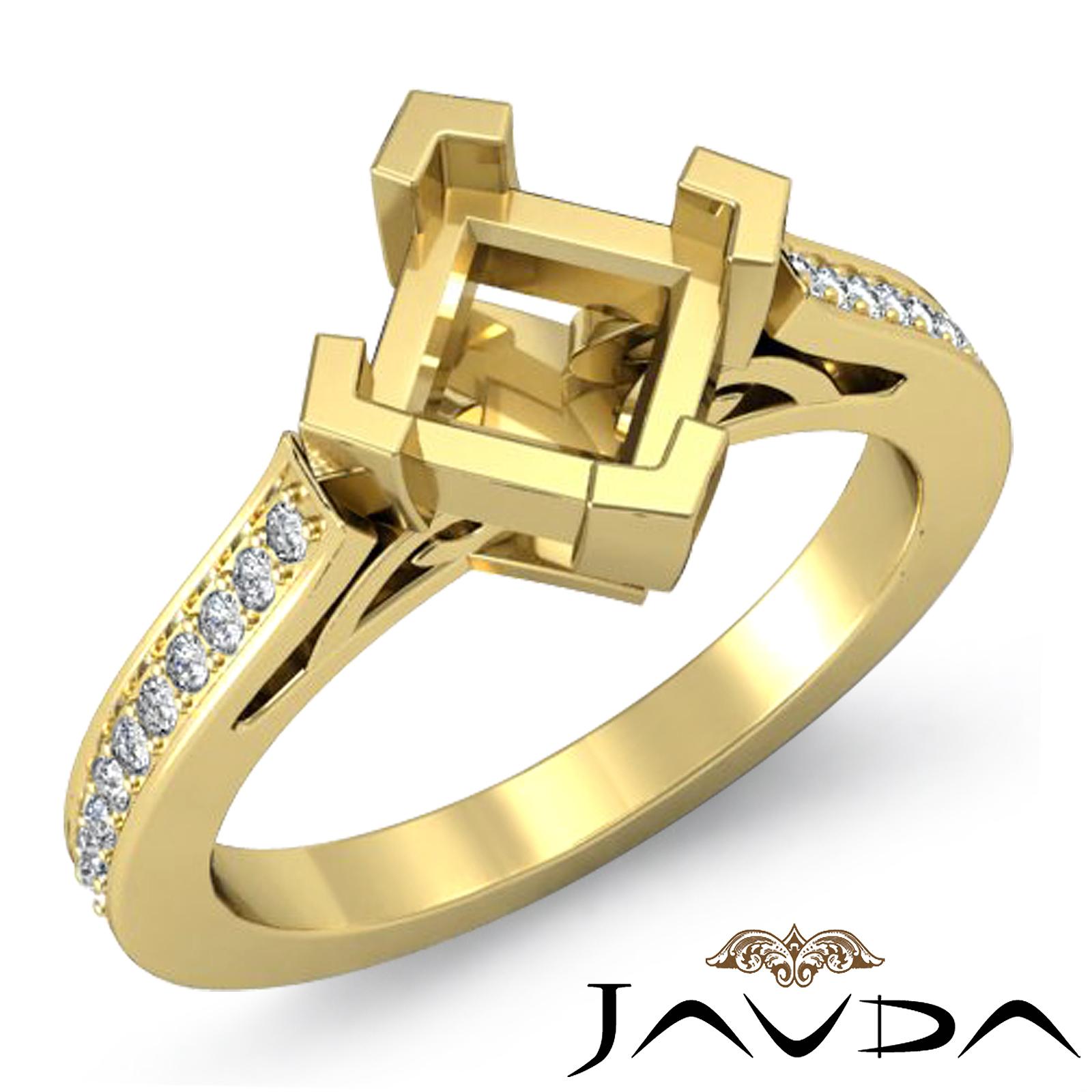 kite set princess engagement ring