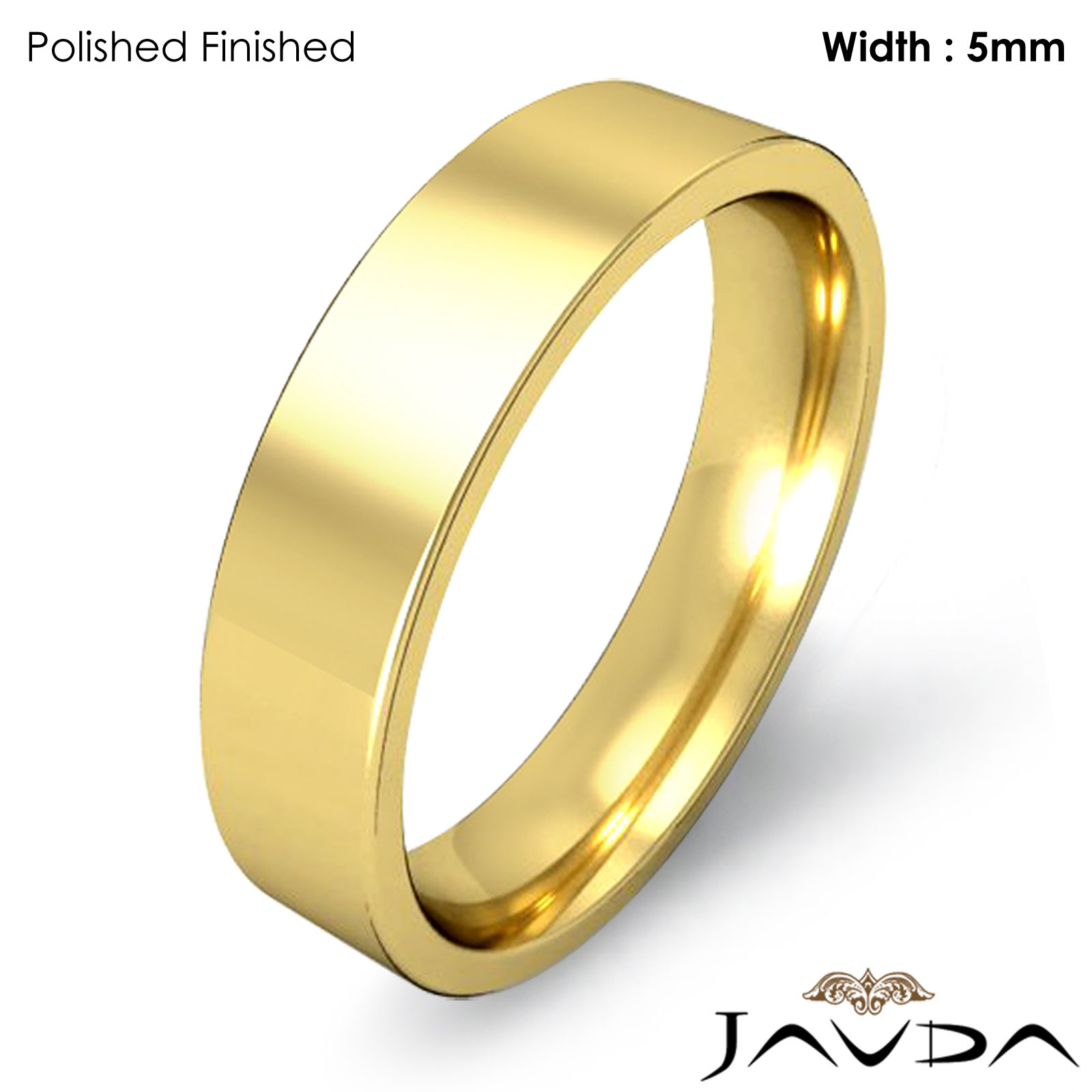 ... Gold Comfort Fit Men Wedding Band Pipe Cut Ring 7gm Size 11-11.75