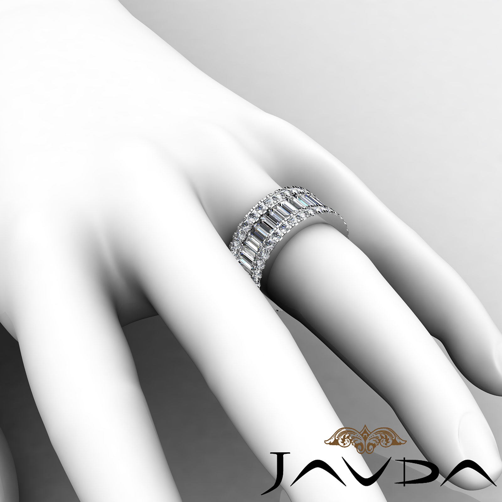 anniversary ring diamond baguette platinum bands or best rings of gold white in band wedding