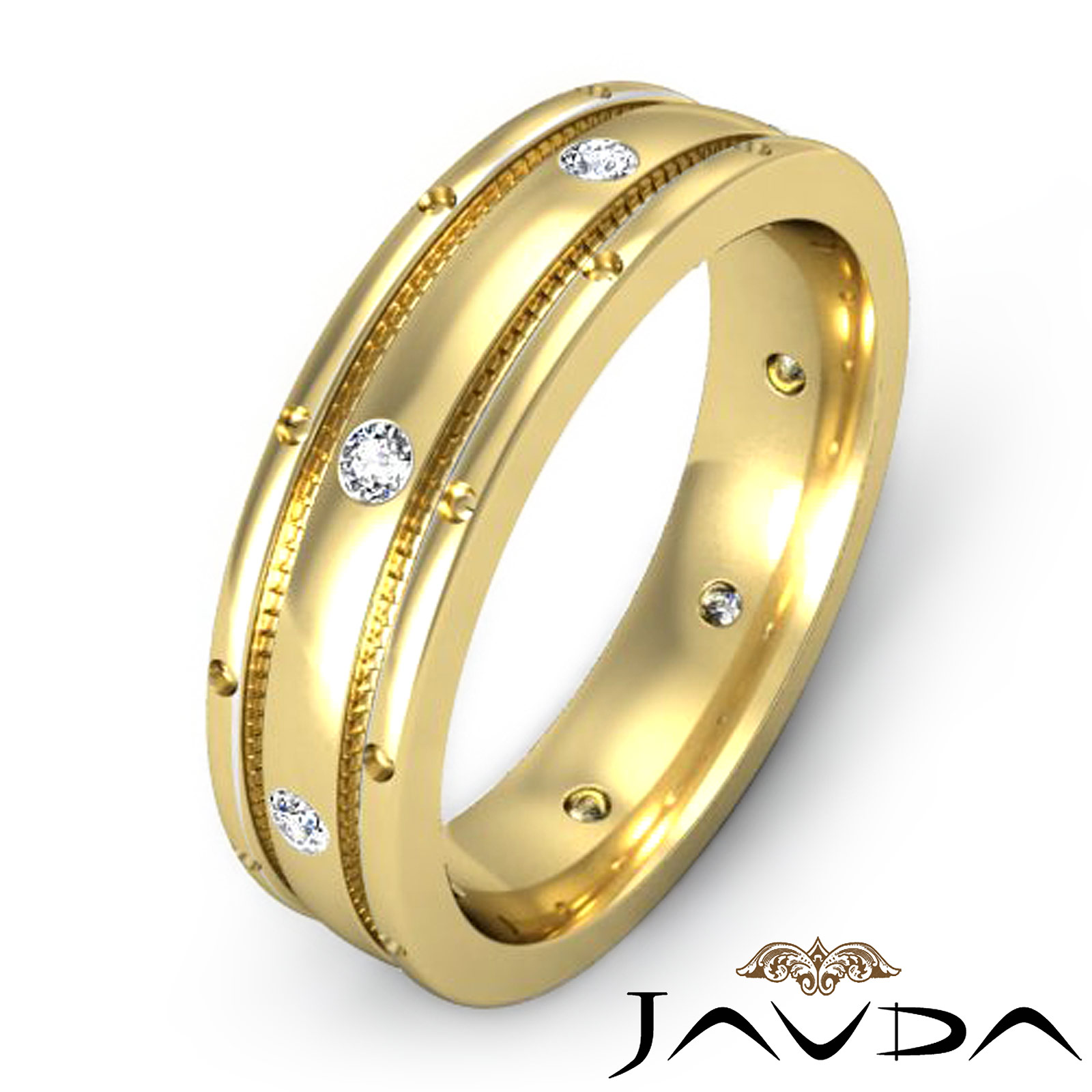Yellow Gold Engagement Rings For Men