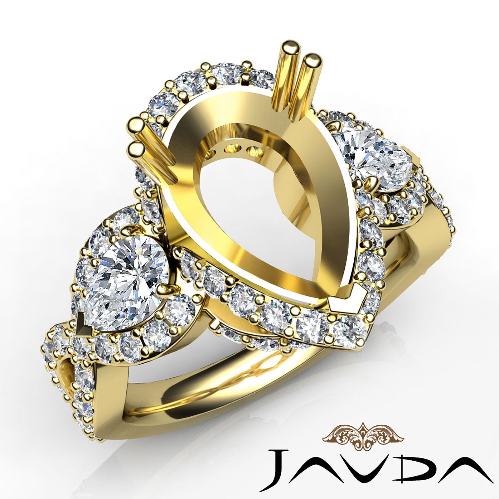 diamond 3 stone anniversary vintage ring 14k yellow gold. Black Bedroom Furniture Sets. Home Design Ideas