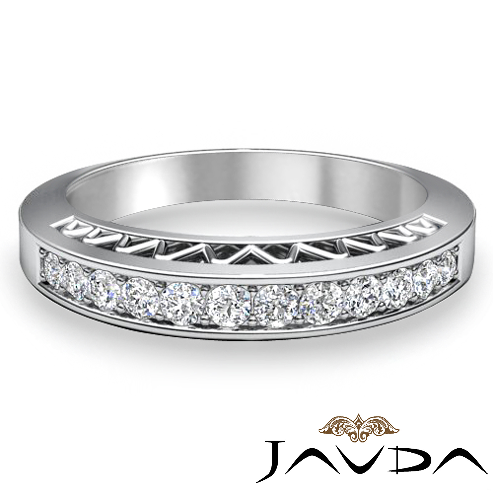 Unique Wedding Bands Platinum