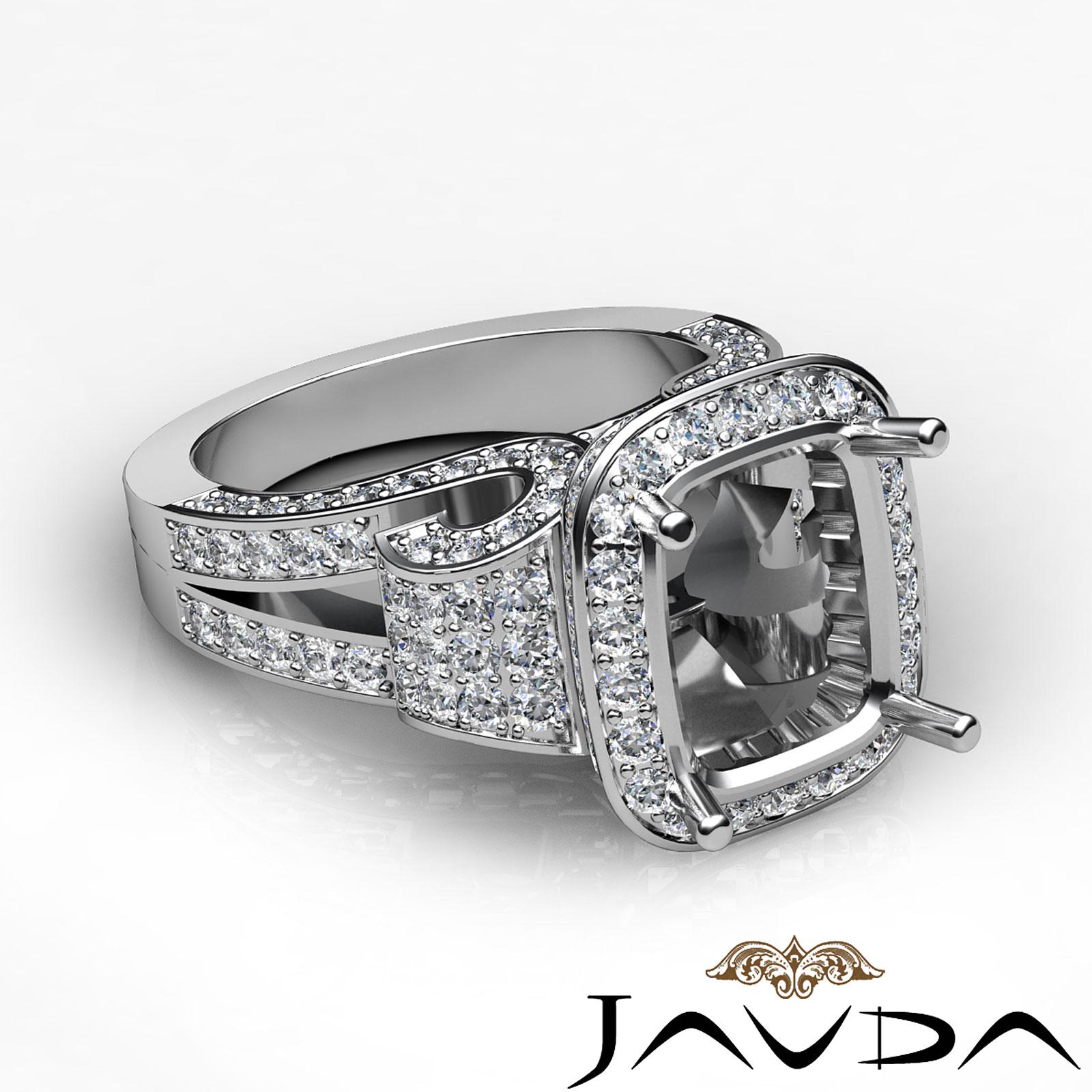 Elegant Antique Style Wedding Rings White Gold