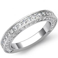 1.25ct Round Diamond Wedding Band Matching Set  Platinum 950 (1.25Ct. tw.)