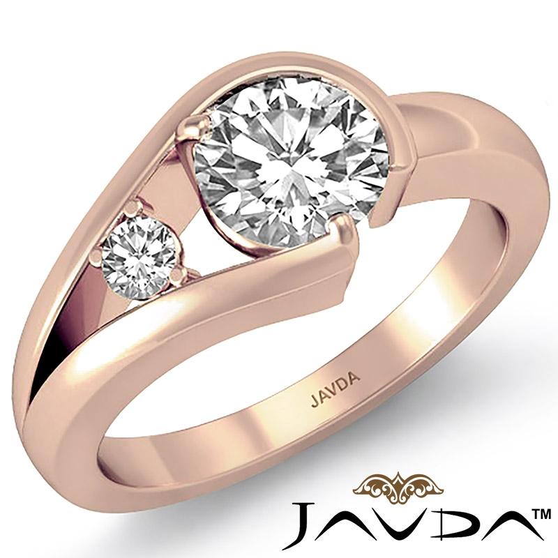 1e3cf8e77 Round Diamond Engagement Ring 14k Rose Gold (0.59ctw.)