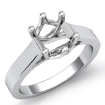 <gram> Six Prong Solitaire Trellis Engagement Ring Setting14k White Gold Semi Mout - javda.com
