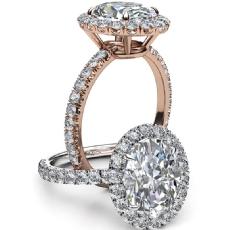 diamond Ring 14k Rose Gold