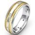 14k Two Tone Gold, 13.00gm