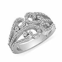 Right Hand Diamond Fashion Rings Right Hand Fashion Ring W
