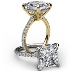 diamond Ring Platinum 950