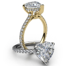 diamond Ring 14k Gold White